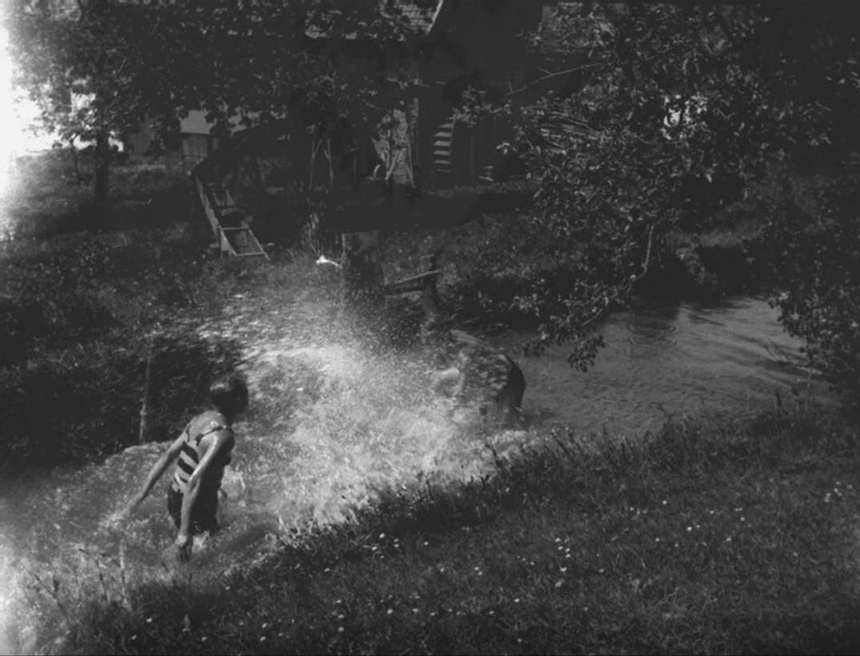 Wasserspiele im Mühlenteich