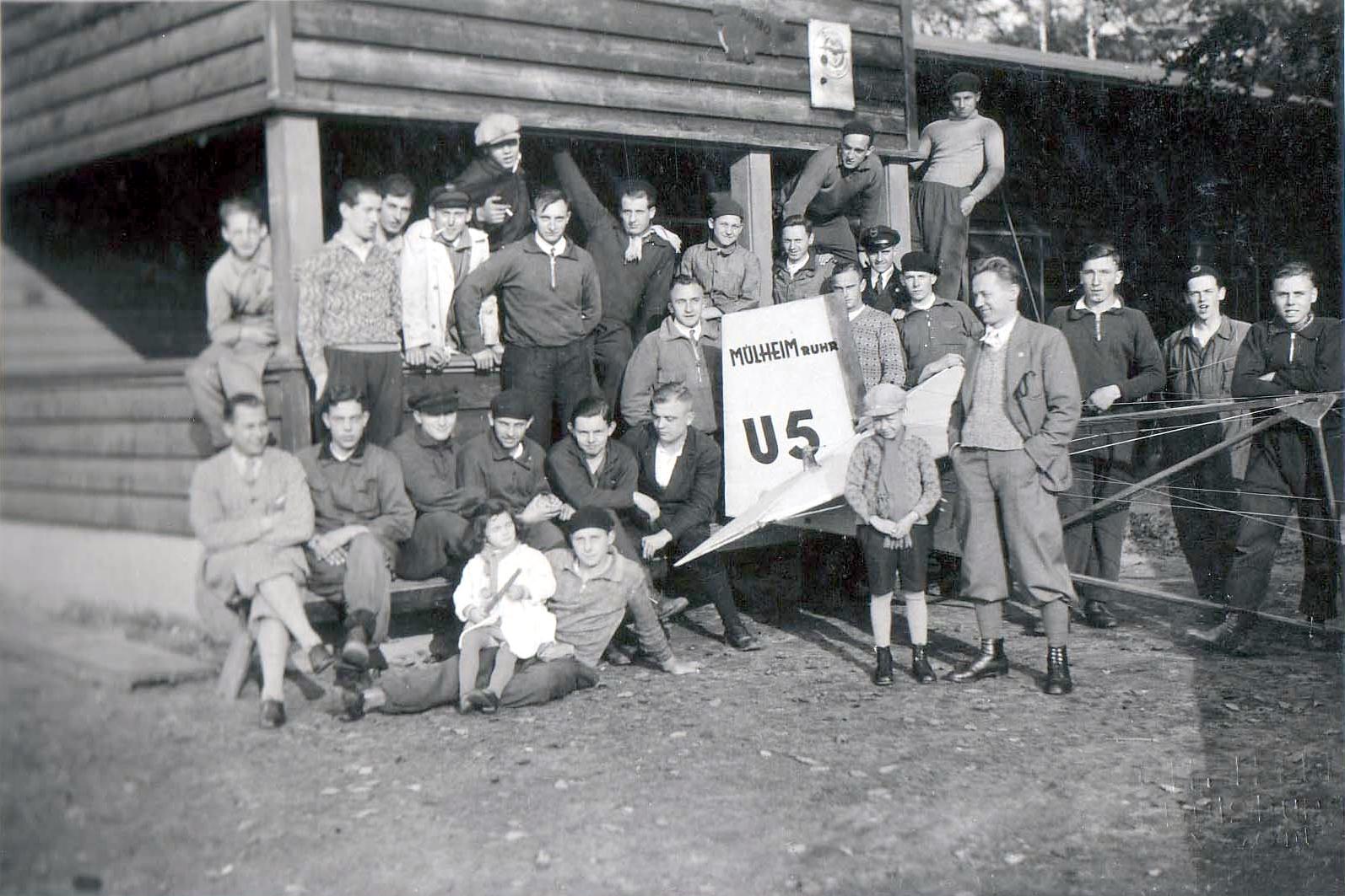 Mülheimer Segelfliegergruppe 1932