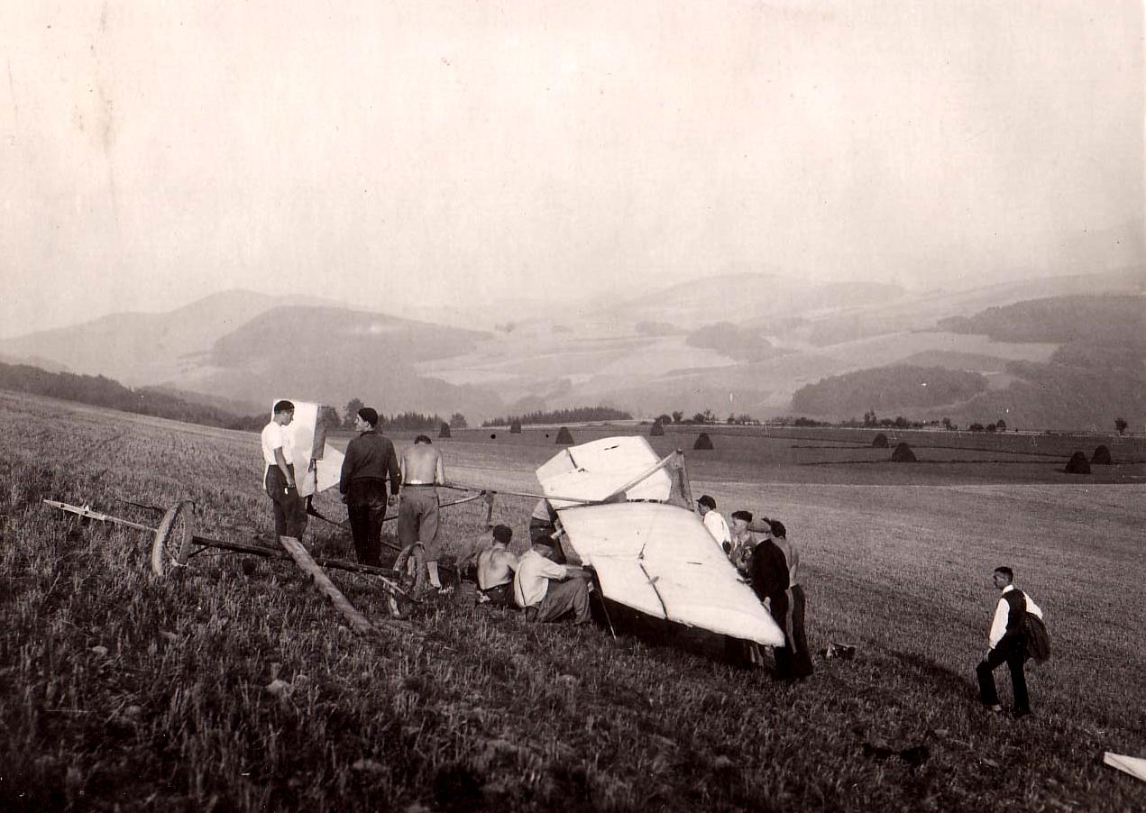 Osenberg Blickrichtung Hennesee 1933