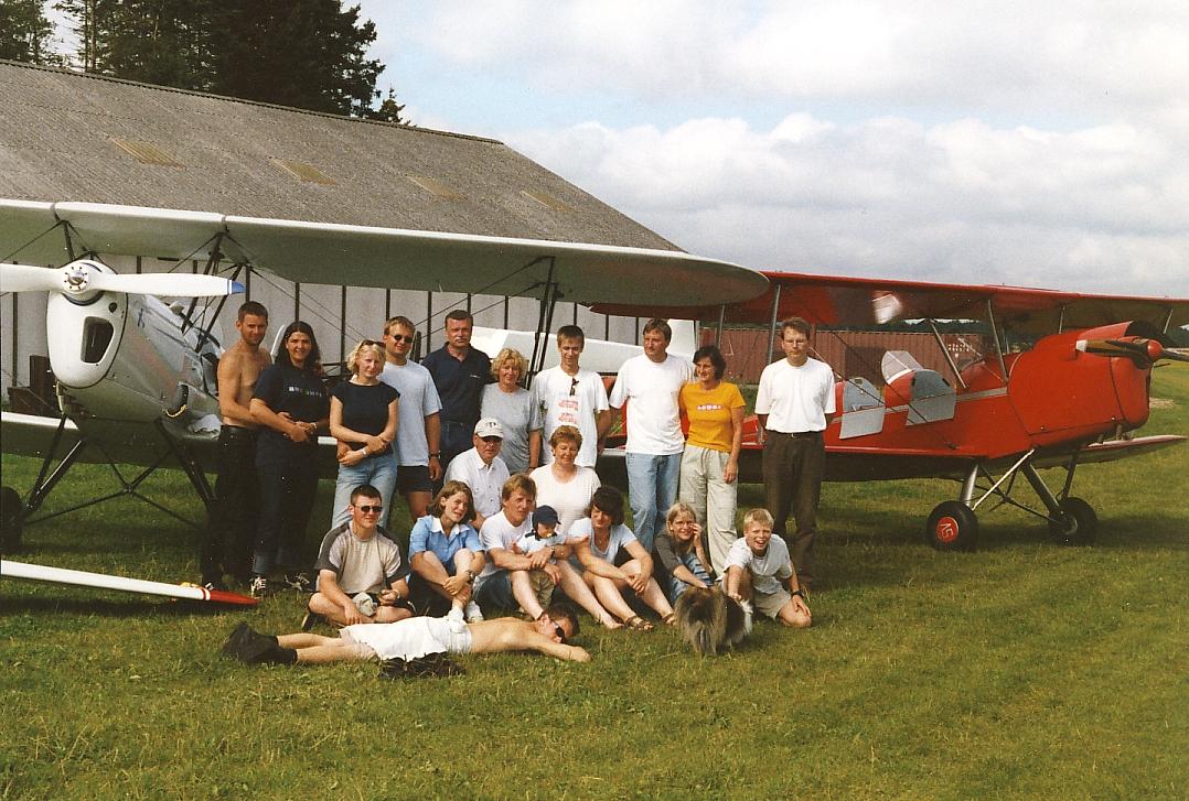 Die Mescheder Flieger in Vejle 2002