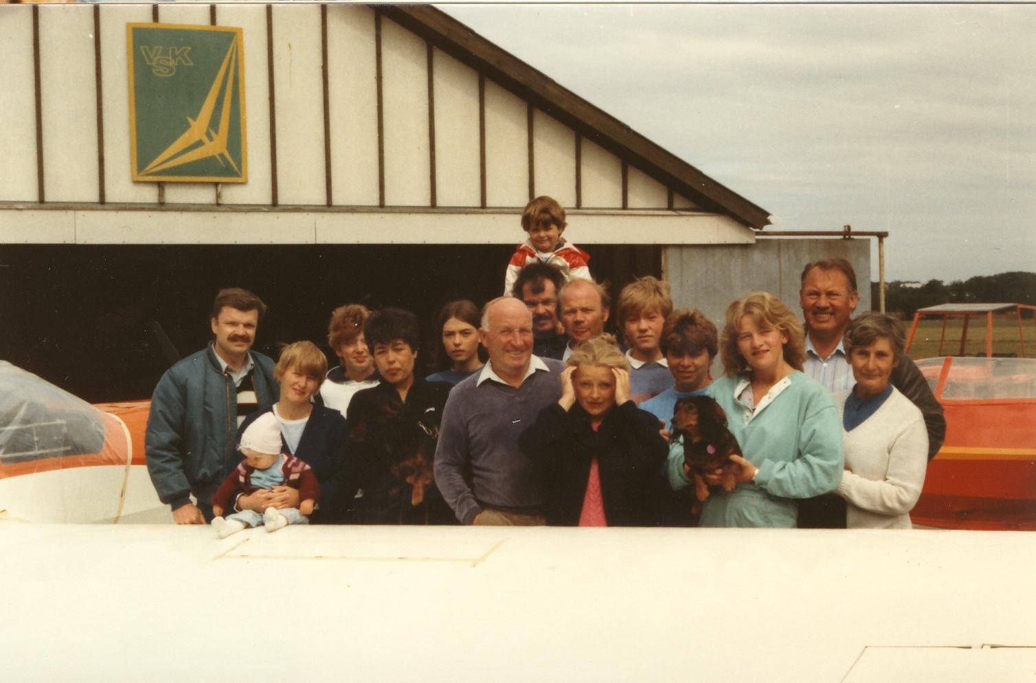 Die Mescheder Flieger in Vejle 1983