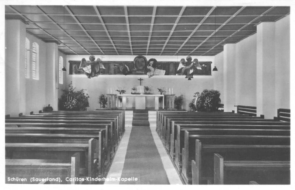 Die Kirche in der Flugzeughalle