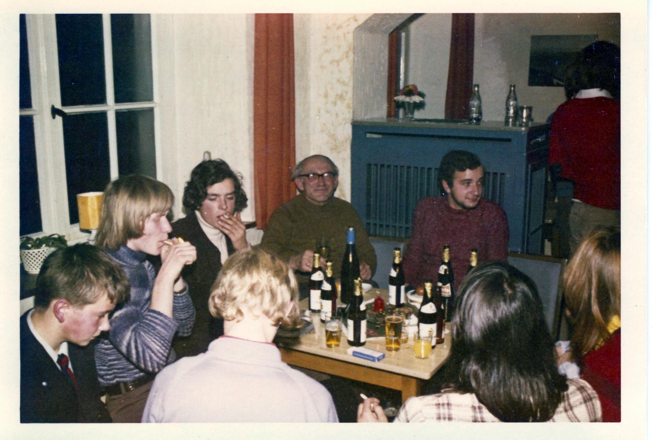Die Jugendgruppe 1971