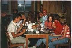 1971 Frühstück im Thermiksaloon