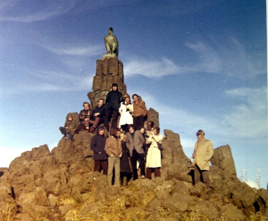 Fahrt zur Wasserkuppe 1971