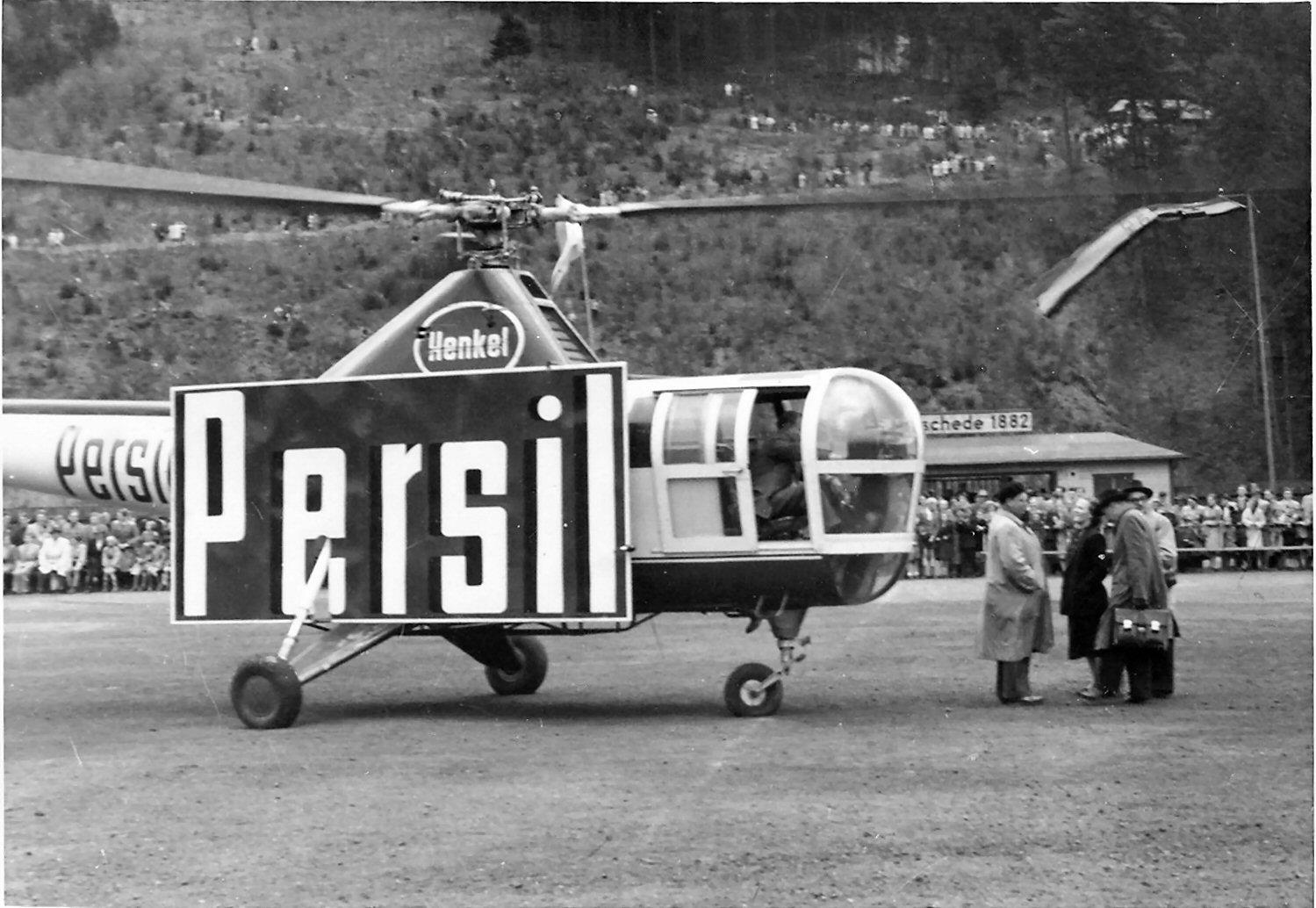 Flugzeugtaufe1954
