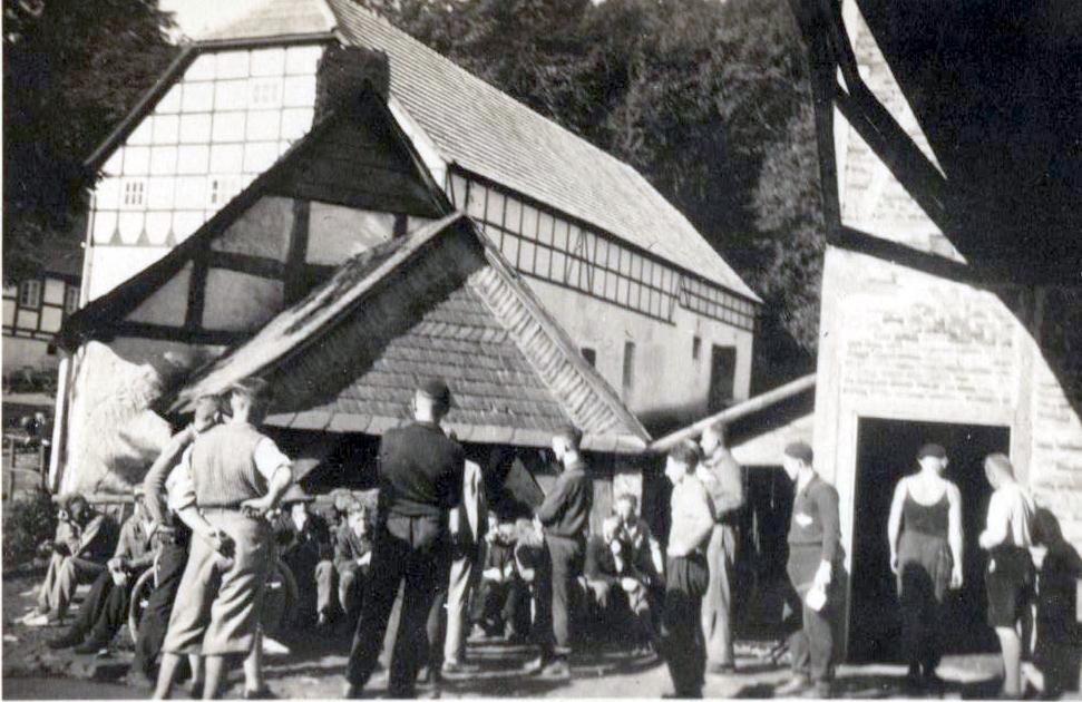 Fliegerlager auf Gut Grewe 1934