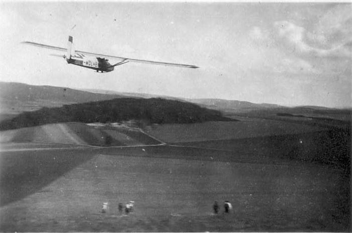 D-Mülheim in der Luft 1932