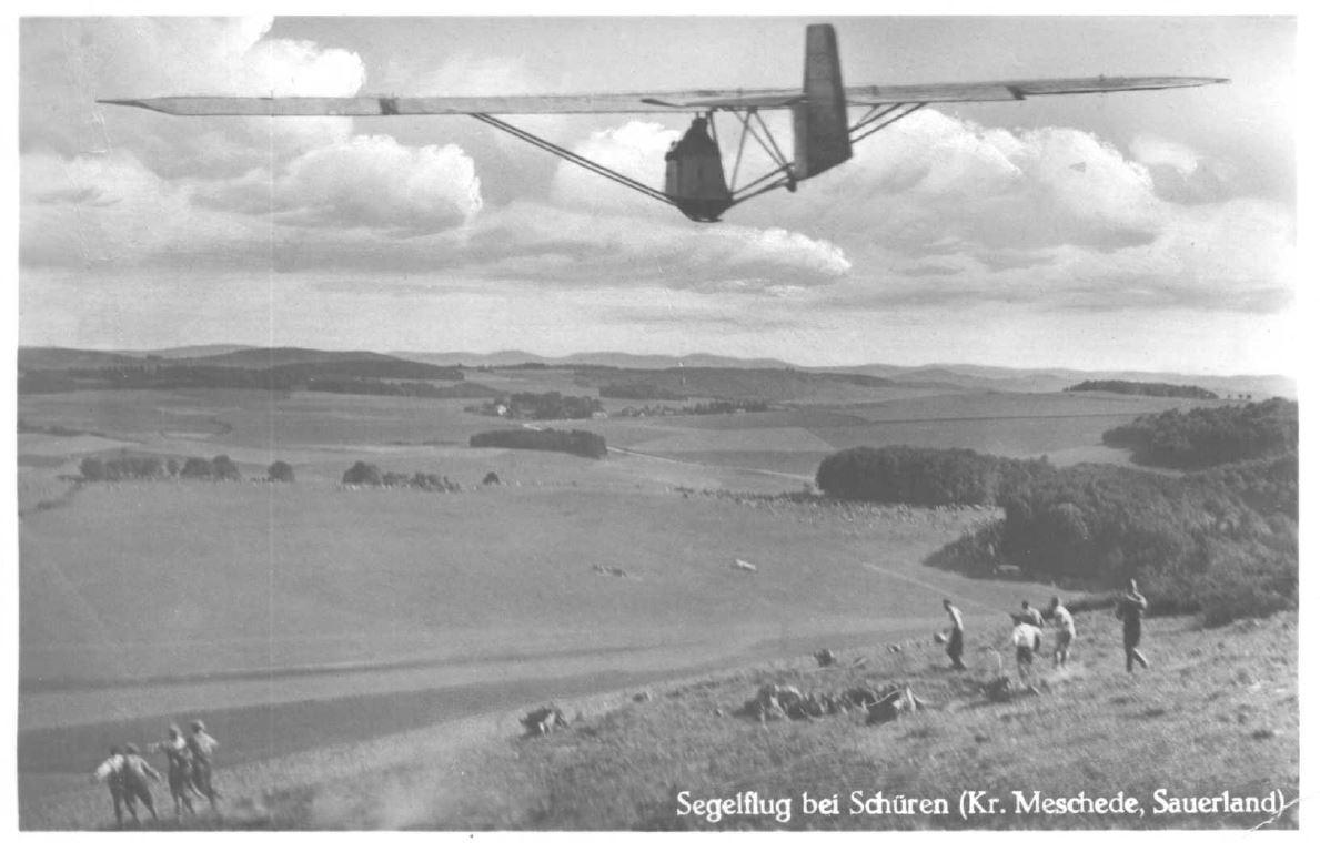 Start vom Osenberg ca. 1934