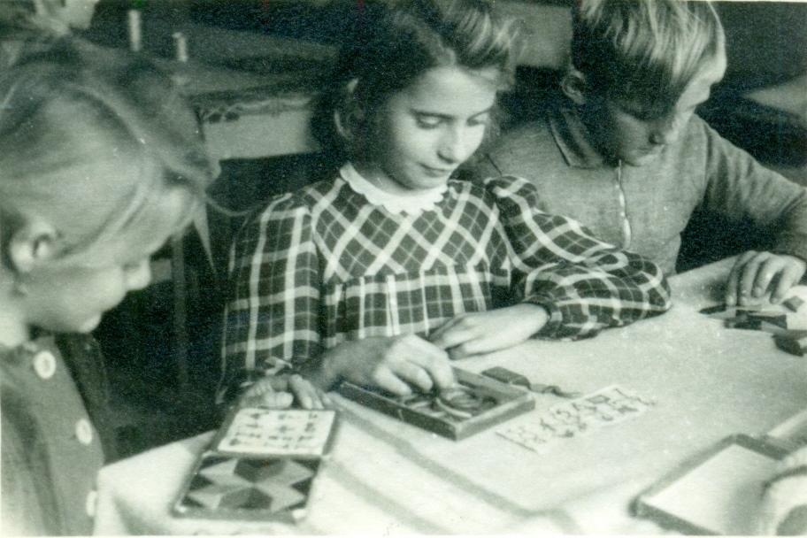 Spielen der Mädchen