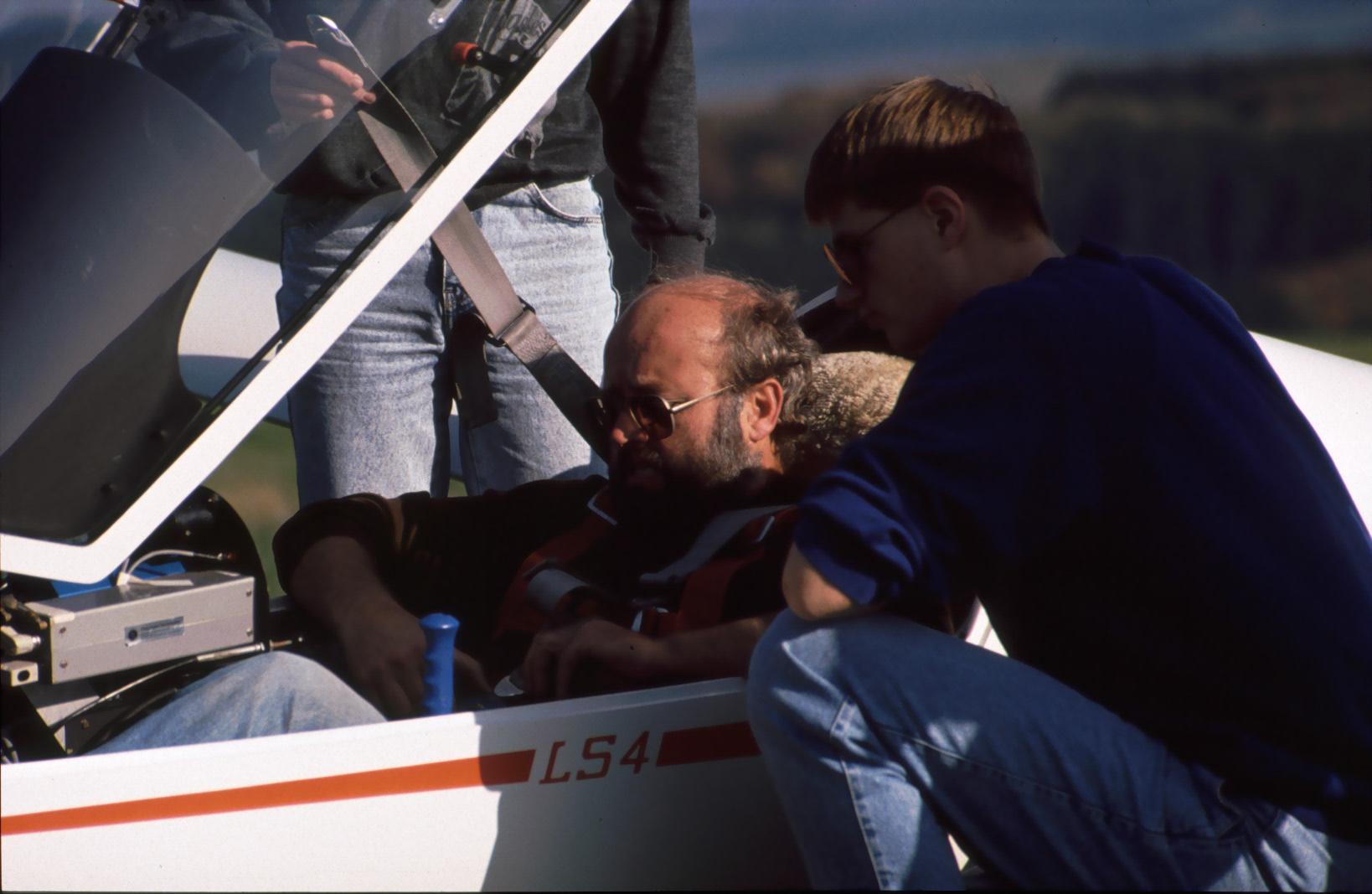 Überland mit LS4 (1989)