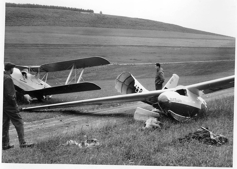 Unfall mit Schafen 1962
